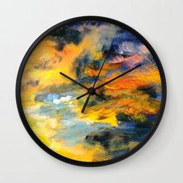Sunset Detail Wall Clock