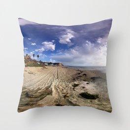 Crystal Cove Beach 360 Throw Pillow