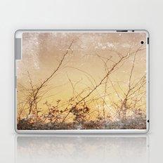 sea plants (gold) Laptop & iPad Skin