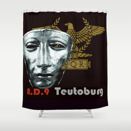 Teutoburg Forest Battleground Artifacts Shower Curtain