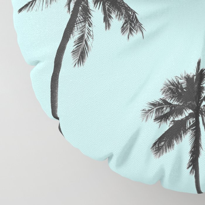Palm trees 5 Floor Pillow