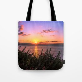 Sunrise 0101 Malibu Tote Bag