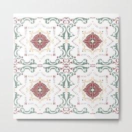 color azulejos Metal Print