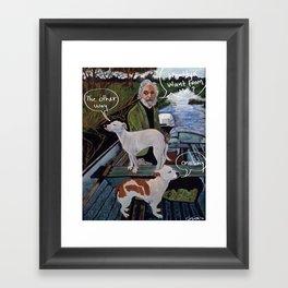 Whaddya Want From Me? Framed Art Print