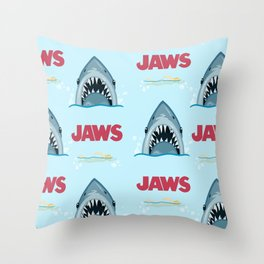 Shark Pattern no.1 Throw Pillow
