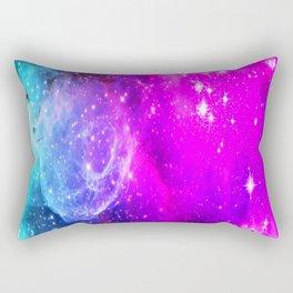 galaxy unicorn gradi Rectangular Pillow