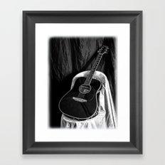 Acoustic Framed Art Print