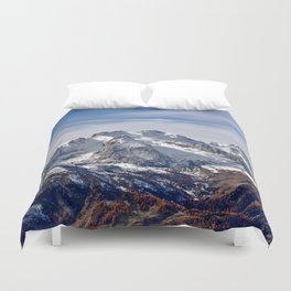 Mountain Crashing Duvet Cover