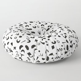 Paper Pieces Floor Pillow