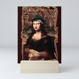Chicana Mona Lisa Mini Art Print