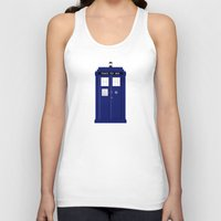tardis Tank Tops featuring TARDIS by fairandbright