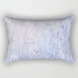 Winter Sparkle On A Sunny Frosty Day #decor #society6 #buyart Rectangular Pillow