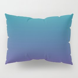 Ombre | Teal and Purple Pillow Sham
