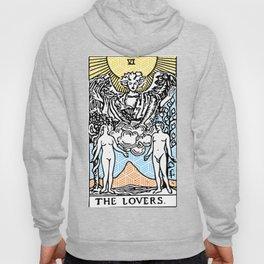 Geometric Tarot Print - The Lovers Hoody