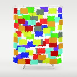 get freaky  (A7 B0087) Shower Curtain