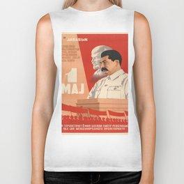 Vintage poster - Josef Stalin Biker Tank
