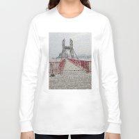 bridge Long Sleeve T-shirts featuring Bridge by Mr and Mrs Quirynen