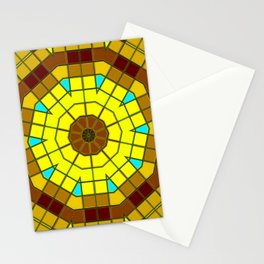 Glass Kaleidoscope Stationery Cards
