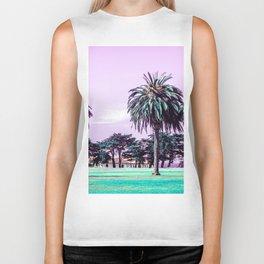 Three palm trees. Biker Tank