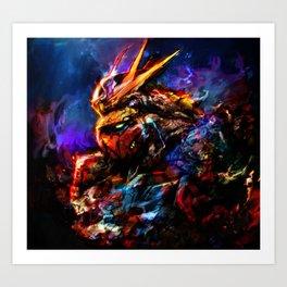 gundam II Art Print