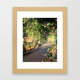 Cloisters fairytales Framed Art Print