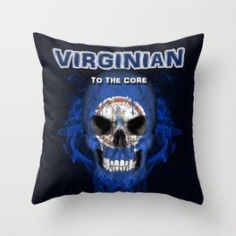 To The Core Collection: Virginia Throw Pillow