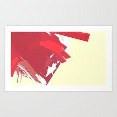 CG_#ff4351 Art Print