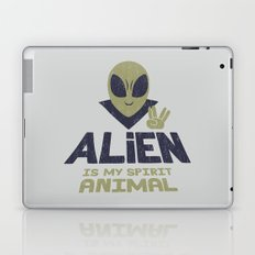 Alien Is My Animal Spirit Laptop & iPad Skin