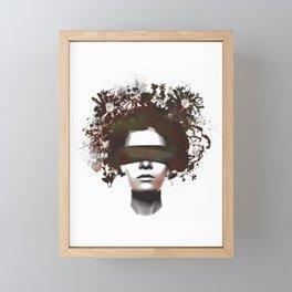 Beauty Is Not The Eye of The Beholder Framed Mini Art Print