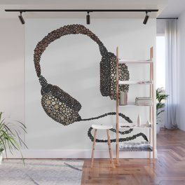 Put Your (Vintage) Headphones On - Abstract Wall Mural