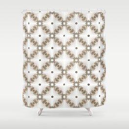 Vintage Filligree 4 Shower Curtain