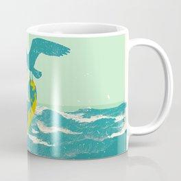 SINKING CELLO (blue) Coffee Mug