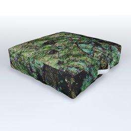 My Green Obsession Boho Art Print Outdoor Floor Cushion