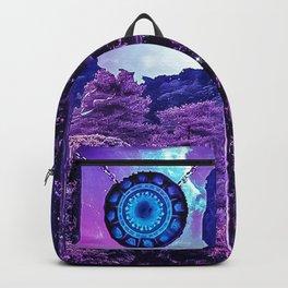 Purple portal Backpack