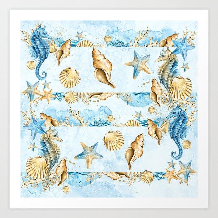 Sea & Ocean #4 Art Print