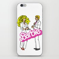 barbie iPhone & iPod Skins featuring Barbie by gamunev
