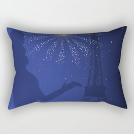 Paris Romance Rectangular Pillow