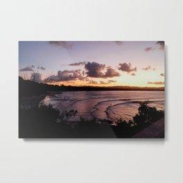 Bay View after sun down  Metal Print