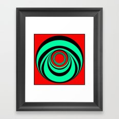 Fat Boitox Ring. Framed Art Print