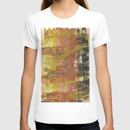 Shades of Gold by Australian Artist Vidy Potdar T-shirt
