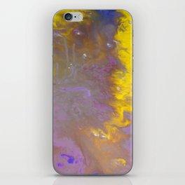 Blue & Yellow iPhone Skin