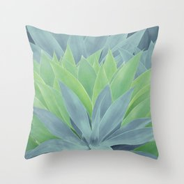Agave Ocean Dream #1 #tropical #decor #art #society6 Throw Pillow