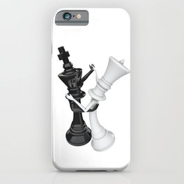 Chess dancers iPhone Case