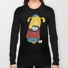 Rugged Roger - the lumberjack Long Sleeve T-shirt