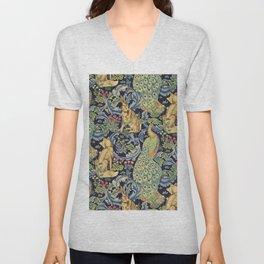 "William Morris ""Forest"" 1. Unisex V-Neck"