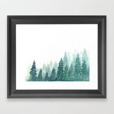 Evergreens Framed Art Print
