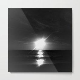Oceanic landscape: Lacanau  9 Metal Print