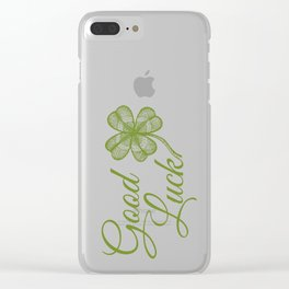 Good luck! Clear iPhone Case