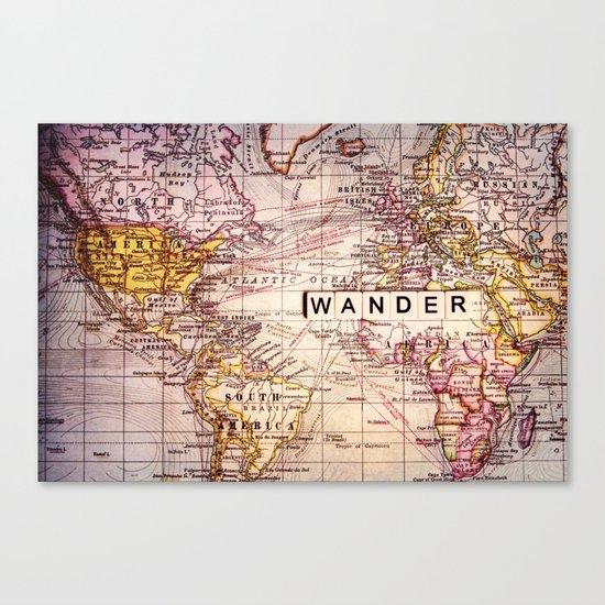 wander Canvas Print