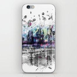 Modern Art NEW YORK CITY Skyline | Splashes iPhone Skin